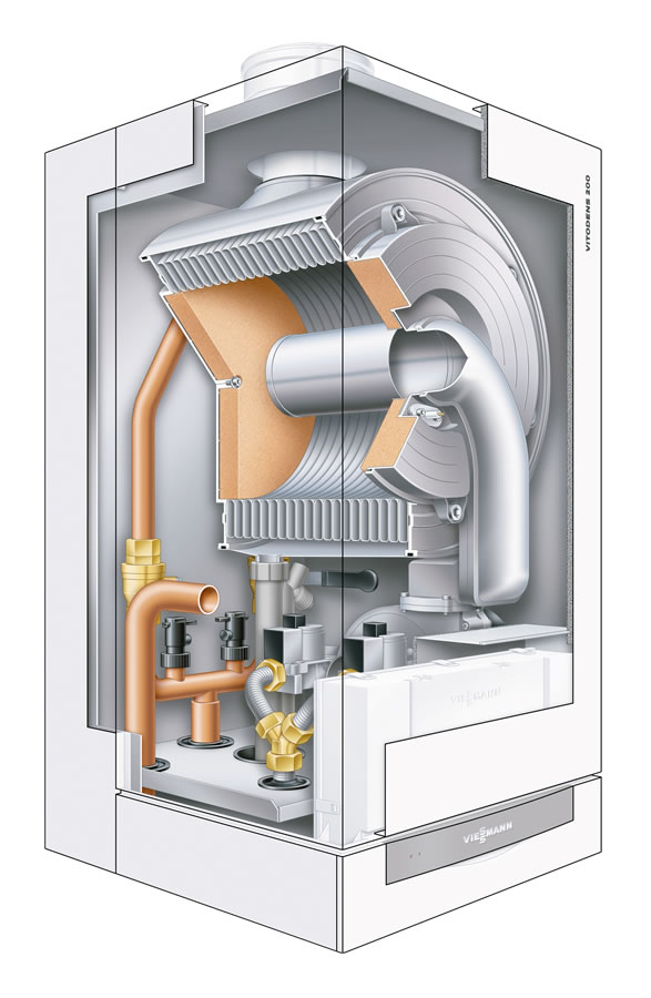 Boilers at Meteek Supply