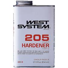 West 205 Epoxy Hardener - Meteek Supply