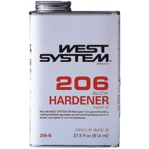 West 206 Epoxy Hardener - Meteek Supply