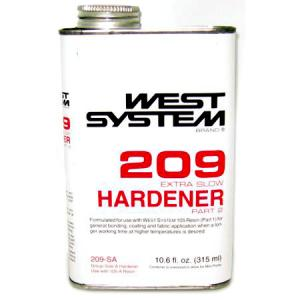 West 209 Epoxy Hardener - Meteek Supply