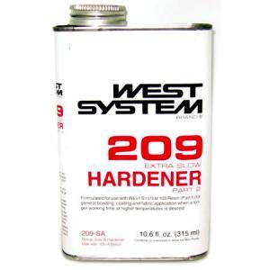West 209 Epoxy Hardener - Meteek Supply