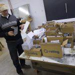 New shipment of Q-railing system parts