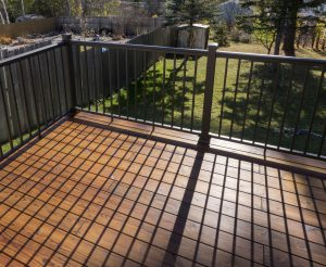 Thermally Modified Wood Decking